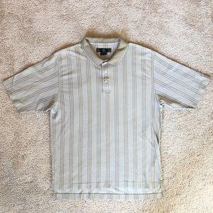 NIKE | Vintage Vertical Stripe Golf Polo (XL)
